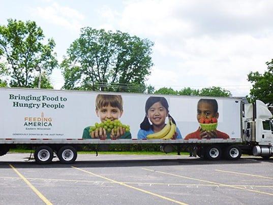 Feeding America Mobile Food Truck