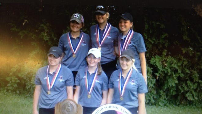 Grundy Center, the Class 1-A golf champs, won for the 13th time, more than any other girls' program.