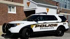 A Brooklawn police officer fired a rifle during a confrontation with a suspect at a Mount Ephraim home Tuesday, authorities say.