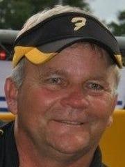 Florien softball coach Bruce Stewart