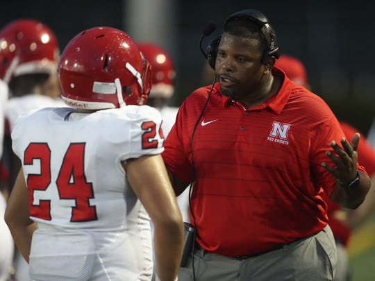 North Fort Myers High School's Dwayne Mack enters his first season as the Red Knights' head coach. North is ranked No. 6 in this week's News-Press High School Football Power Rankings.
