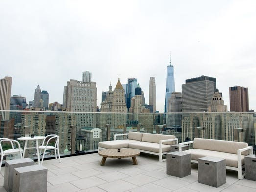 The Crown bar and lounge opened on the rooftop of New
