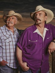 The Bellamy Brothers, Howard, left, and David, recently celebrated 40 years in the music business.