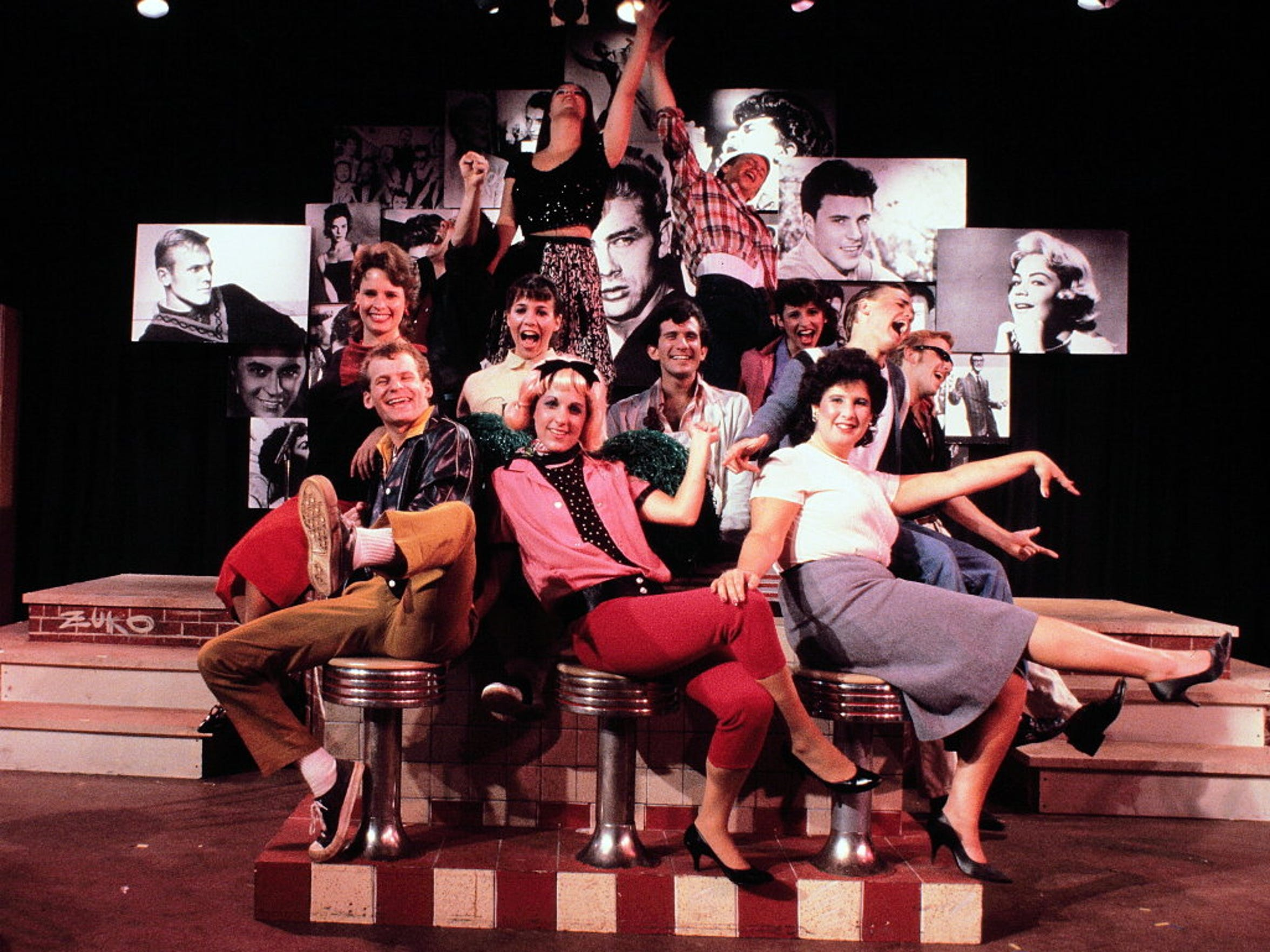 "The Cider Mill Playhouse's production of ""Grease"" in 1983."
