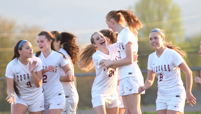 Stuart Draft won its girls soccer semifinal match Tuesday, setting up a meeting with Wilson Memorial in the finals Thursday.