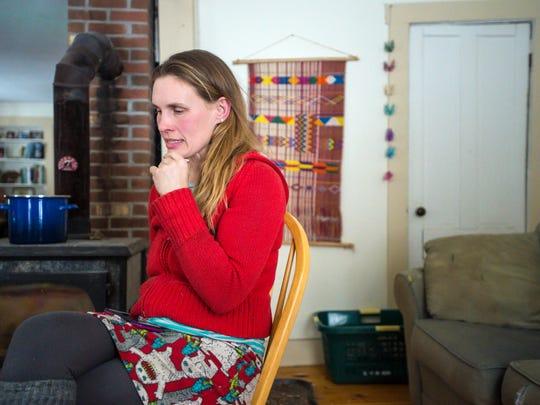 """Ariel Zevon discusses her album """"The Detangler"""" in Worcester on Thursday, January 11, 2018."""