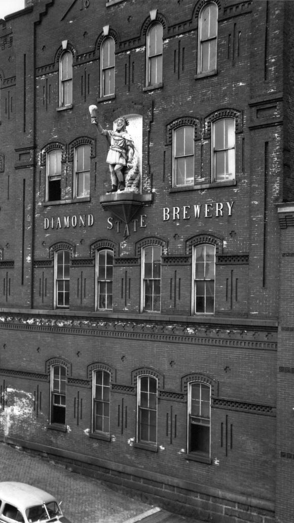 The Diamond State Brewery at W. Fifth and N. Adams