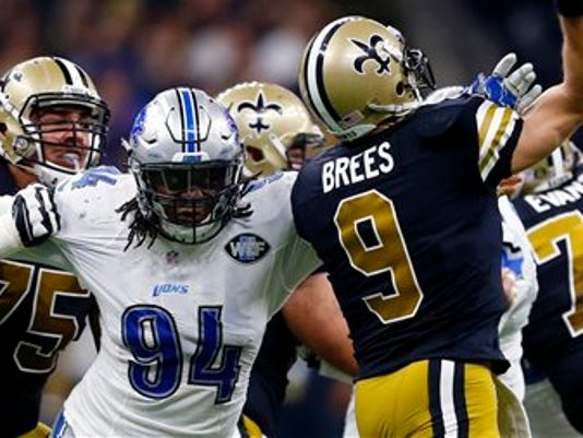 Drew Brees, Ezekiel Ansah