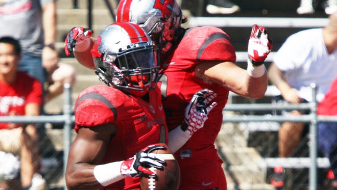 Leonte Carroo is back in the Rutgers lineup looking to add to his school record of 22 career touchdown catches.