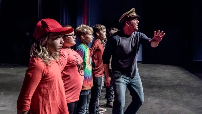 """Jed Kercher plays the General in Pentacle Theatre's winter fundraiser """"Seussical"""" Jan. 6-8 at the Historic Elsinore Theatre."""