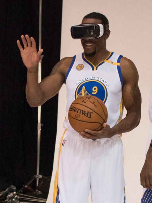 USP NBA: GOLDEN STATE WARRIORS-MEDIA DAY S BKN USA CA