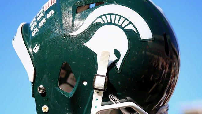 Michigan State football helmet.