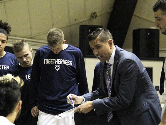 Craig Doty led Graceland to the NAIA Division I championship in March