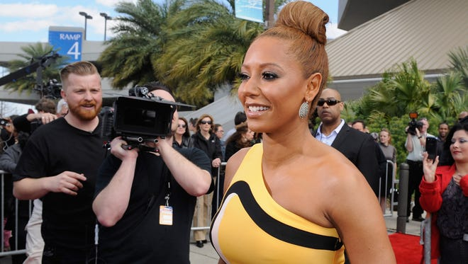 Melanie Brown aka Mel B of the Spice Girls attends the 'America's Got Talent' New Orleans auditions as a judge March 4, 2013 in New Orleans.