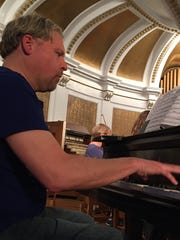 Brian Helman will perform perform a challenging Willy Ostyn Piano Concerto.during Cumberland Valley School of Music's free Community String Orchestra concert Tuesday.