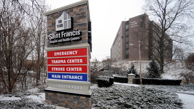 Saint Francis Hospital in the Town of Poughkeepsie on Dec. 14, 2013.