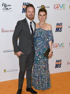 Aaron Paul and Lauren Parsekian named their firstborn