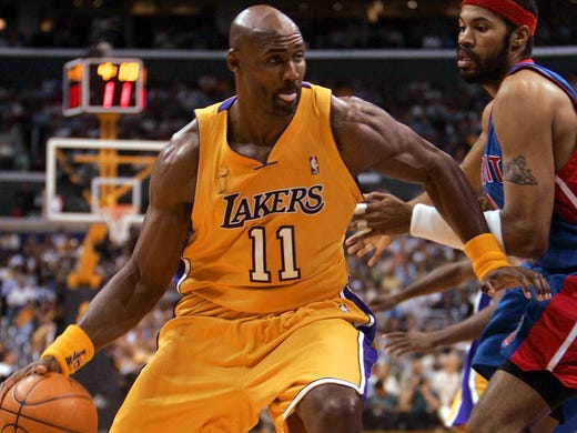 Karl Malone (Los Angeles Lakers) - Malone played the
