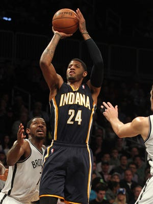 Paul George scored 26 points for the Pacers.