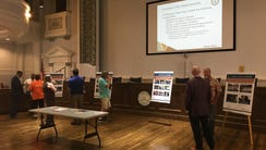 A meeting for residents to tell the city about their