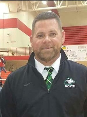 Interim North boys' basketball coach Heath Seaton