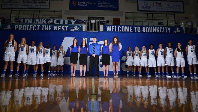 FGCU women's basketball 2016-17 roster