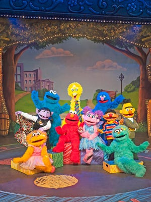 'Sesame Street Live' is coming to Atlantic City.