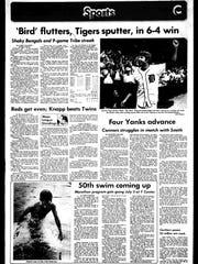 Battle Creek Sports History - Week of June 25, 1977