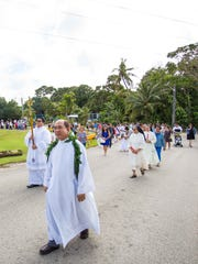 Father Melchor Camina, the parish priest for the Assumption of Our Lady Church in Piti, was one of the organizers of the Special Mass. He says the celebration is one way of passing religious devotion to younger generations.