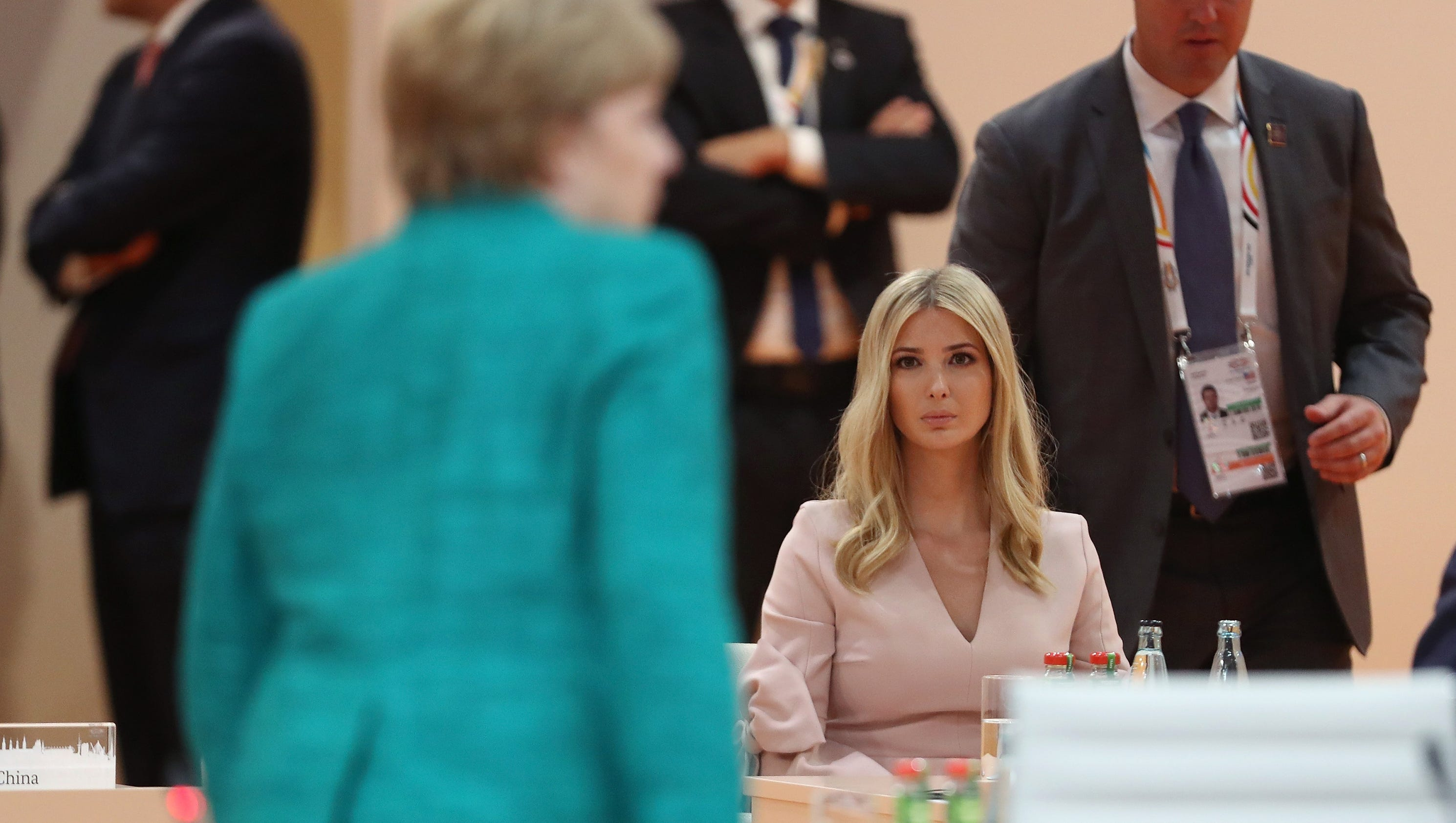 Ivanka Trump takes center stage at G-20 as president pledges $50 million for women's program