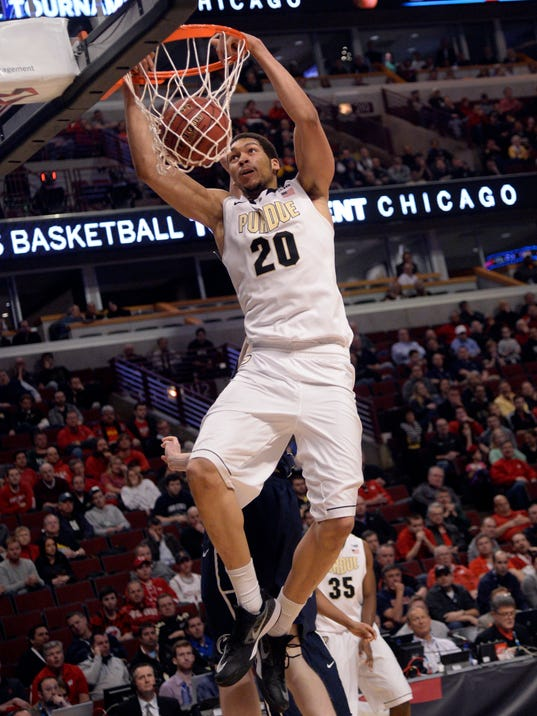 NCAA Basketball: Big Ten Conference Tournament-Penn State vs Purdue
