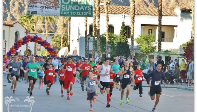 A Thanksgiving Day Turkey Trot will start at 7:30 a.m. at the Wellness Center in La Quinta.