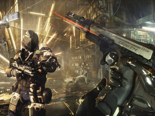 """Play stealthy or listen to the Metallica-loving voices in your head and kill 'em all in """"Deus Ex: Mankind Divided."""""""