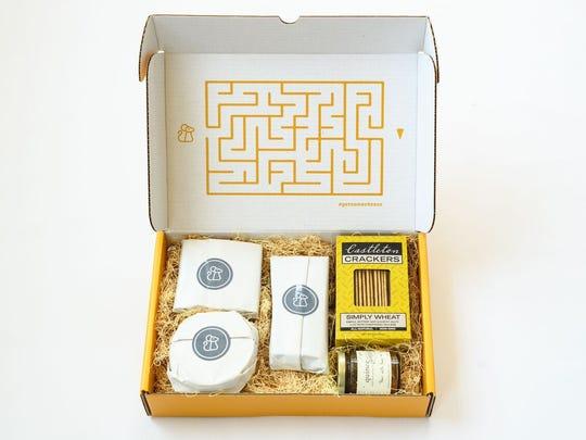 Cheesemonger Box offers artisan cheeses from America