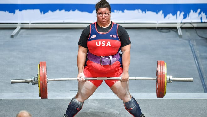 Battle Creek's Bonica Lough is a national and international powerlifting champ.