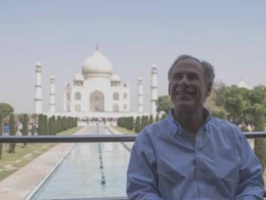 Greg Abbott Taj Mahal