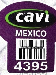 Cavi brand papaya from Mexico has been recalled by