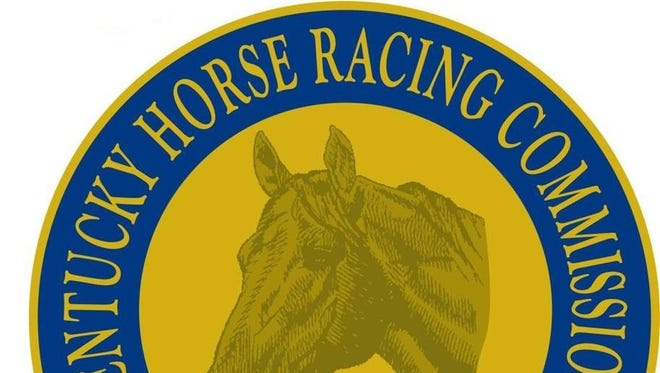 Kentucky Horse Racing Commission logo.