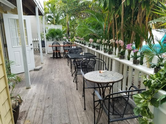 Banyan 320 Kitchen and Bar in Stuart offers indoor or outdoor dining and a small bar complete with purse hooks and kombucha on tap.