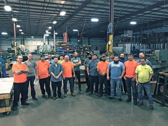 The fabrication team at Corken Steel.
