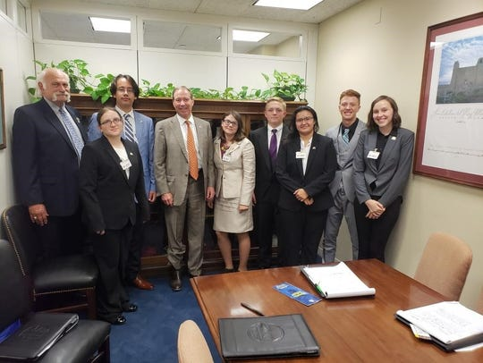 STEM advocacy continued in DC when area students met