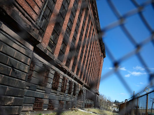 "The old York County Prison on Chestnut Street in York Wednesday, March 26, 2014. Kate Penn â "" Daily Record/Sunday News"