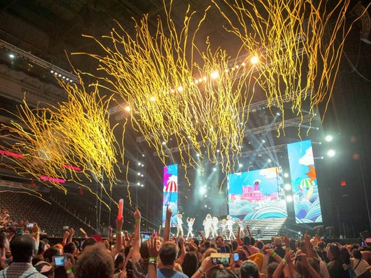 A scene from last August's KCON at the Prudential Center in Newark.