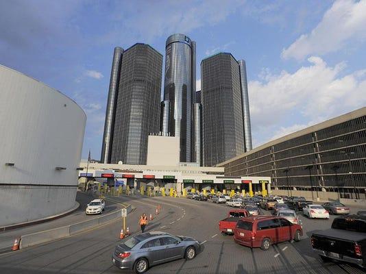 Detroit-Windsor Tunnel FILE