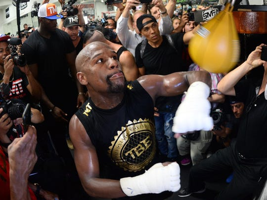 Floyd Mayweather could reportedly bet as much as $5 million on himself.
