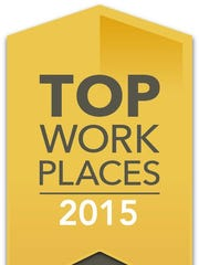 Top Workplaces, 2015.