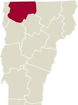 Franklin County map