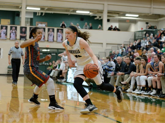 Rachel McLimore (right) transferred to Zionsville from Covenant Christian this summer.