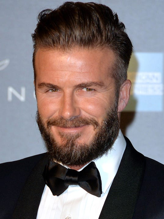 David Beckham takes ov... David Beckham