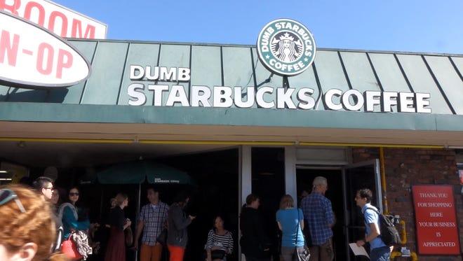 Dumb Starbucks, a parody art project